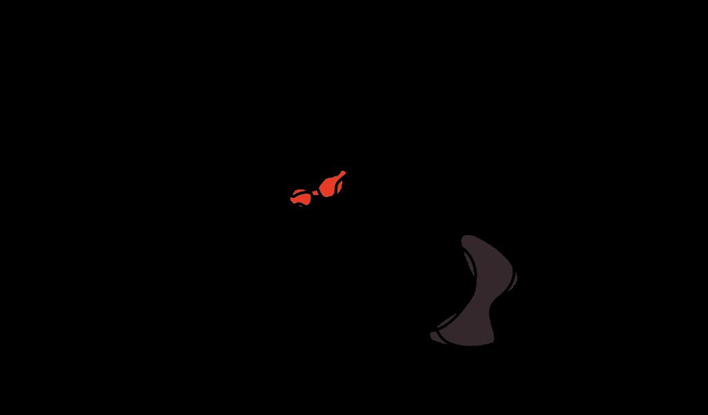 Ilustración natación