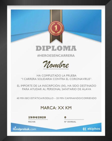Diploma heroesencarrera